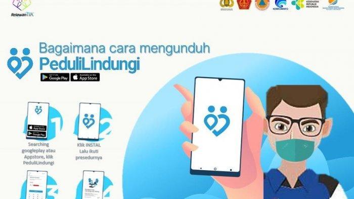 AplikasiPeduliLindungiKini Bisa Diakses di Lebih 50 Aplikasi Mitra Pemerintah Mulai Oktober 2021