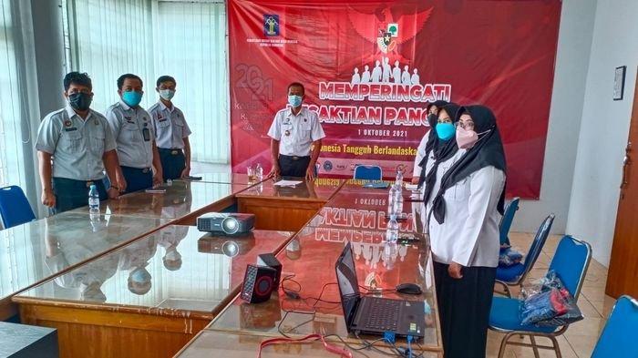 Pegawai Rupbasan Kelas II Indramayu Ikhtiar Batin Lawan Covid-19 Bersama 5 Tokoh Lintas Agama