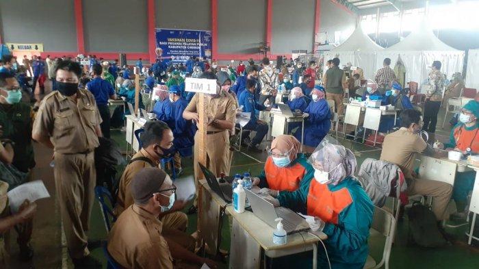 Dinkes Kerahkan 150 Vaksinator untuk Suntik Vaksin Covid-19 Kepada Pegawai Pemkab Cirebon