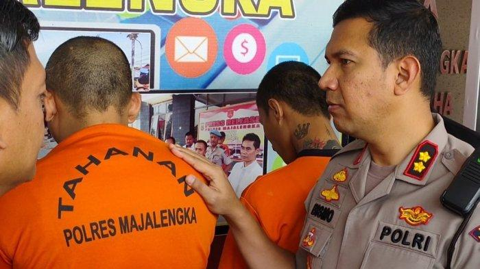 BREAKING NEWS: Konsumsi Sabu, Seorang Pemuda di Majalengka Ditangkap Polisi
