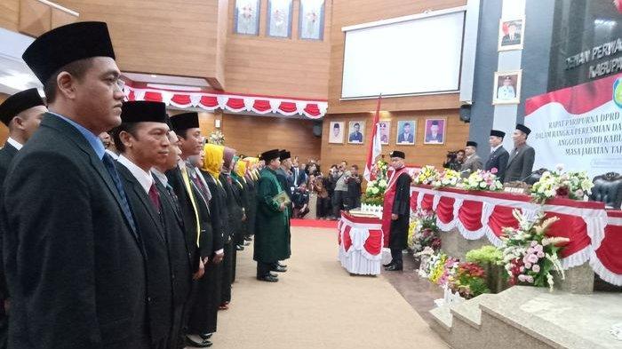 Pelantikan Anggota DPRD Indramayu Selesai, Golkar Jadi Partai Penguasa DPRD di Kota Mangga