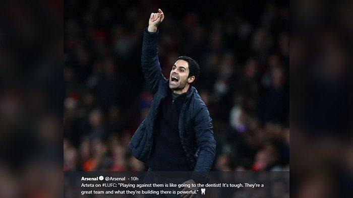 Arsenal Melempem, Gak Bisa Bersaing di Papan Atas Klasemen di Liga Inggris, Arteta: Woles Aja Bray