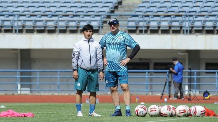 Persib Bandung ke Final Piala Menpora 2021, Kini Target Robert Alberts Bawa Maung Bandung Juara