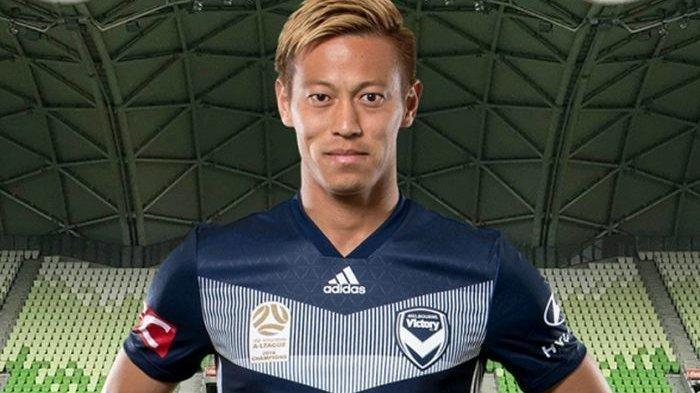 Hah, Keisuke Honda ke Persija Jakarta? tapi Eks Pemain AC Milan Malah Umumkan Hal Ini