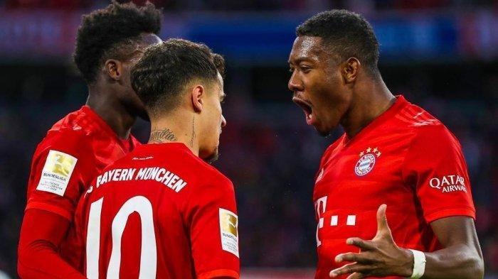 Hasil Liga Champions, Bayern Muenchen Singkirkan Lazio di Allianz Arena, Lolos ke Perempat Final