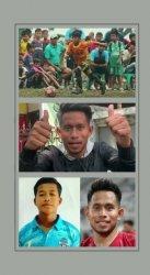 Tangkapan layar video ucapan Andik Vermansah untuk Al Anas Nuarih (16), pemain muda asal Kabupaten Indramayu.