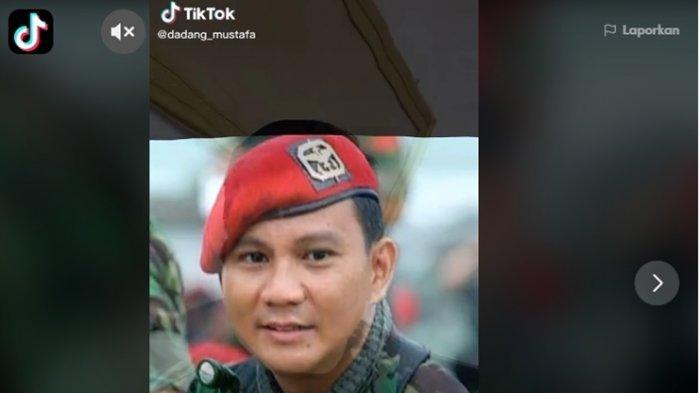 Viral di TikTok, Ada Pria Wajahnya Mirip dengan Menhan Prabowo, Netizen Bilang Itu Kembaran Prabowo