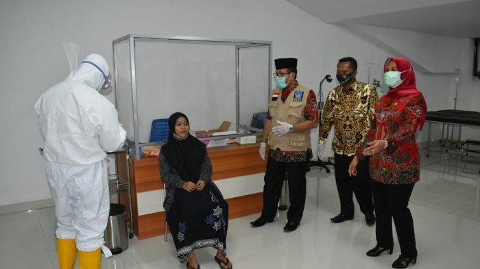 Ini Hasil Swab Test Santri Asal Kabupaten Cirebon yang akan Kembali ke Pesantrennya di Luar Daerah