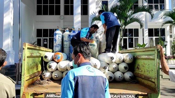 Pemkab Kuningan Terima Bantuan Oksigen dari Krakatau Steel untuk Pasien Covid-19, Langsung Disebar