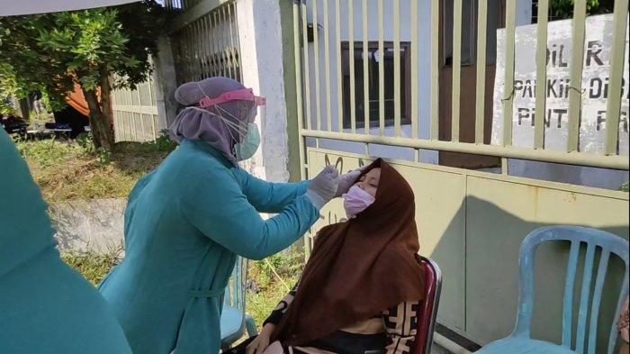 40 Pemudik Jalani Rapid Test Antigen di Pos Penyekatan Jalan Kalijaga Kota Cirebon, Ini Hasilnya