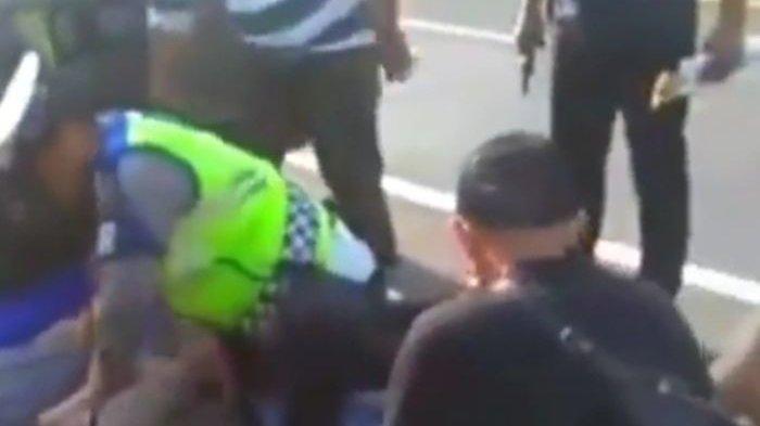 Beredar Video Penangkapan 6 Pria di Tol Cipali, Berawal dari Pengejaran Anggota PJR Polda Jabar