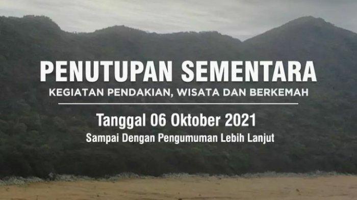 Jalur Pendakian Taman Nasional Gunung Gede Pangrango Kembali Ditutup, Pendaki Harap Sabar