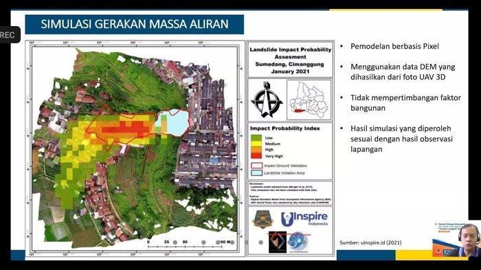 Peneliti LAPAN Ungkap Penyebab Longsor Cimanggung Sumedang Berdasarkan Data Citra Satelit