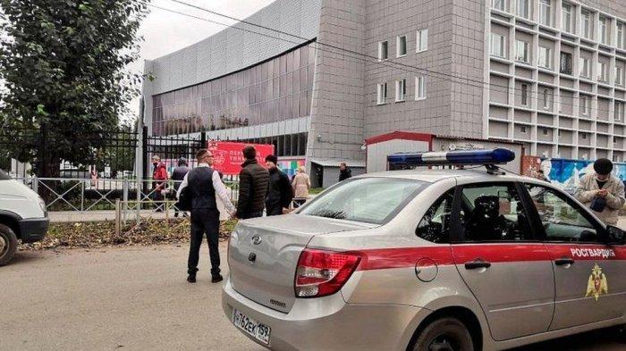 Terjadi Penembakan Brutal di Kampus Rusia, Korban Tewas Direvisi Menjadi 6 Orang