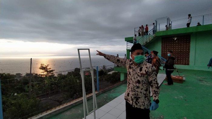 Rukyatul Hilal Satu Syawal Dilakukan di Sukabumi, Ternyata Pakai Alat Modern dan Tradisional Ini
