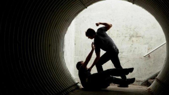 VIRAL Dua Oknum Polisi Diduga Aniaya Pria Gangguan Jiwa, Berawal dari Lontaran Kata Bernada Ancaman