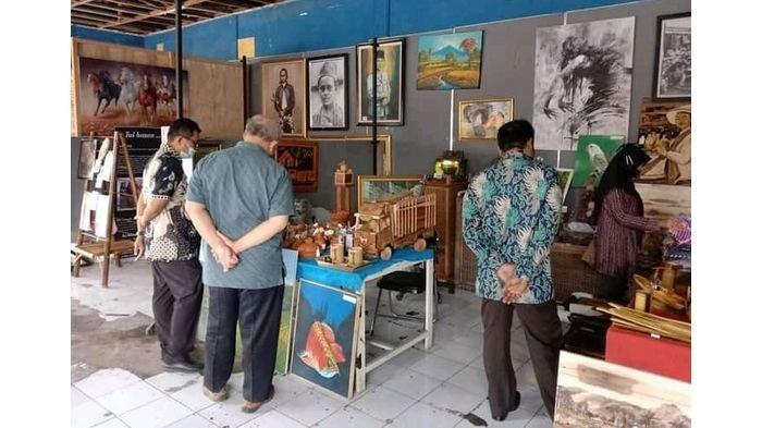Pasar Seni Raharja, Wajah Baru Ekraf Majalengka yang Diinisiasi Para Pelaku Seni Rupa