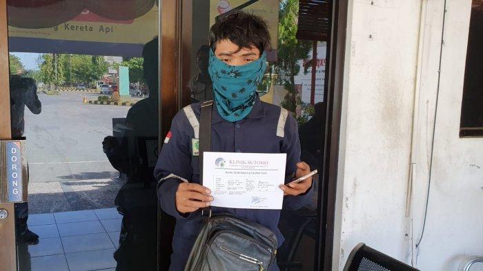 PT KAI Klaim Banyak Penumpang di Stasiun Cirebon Manfaatkan Rapid Test, Hasilnya Semua Non Reaktif