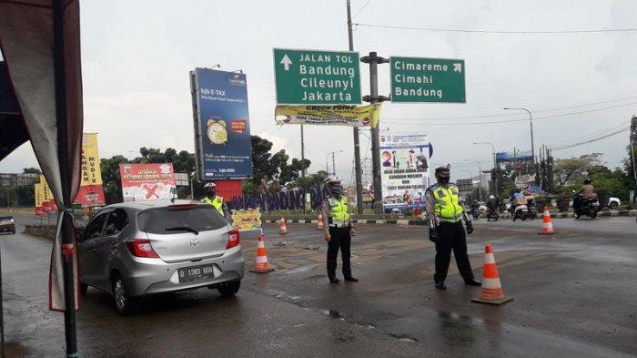 Ada Penyekatan Kendaraan di Kota Bandung, Polda Jabar Awasi Jalur Alternatif Cegah Pemudik