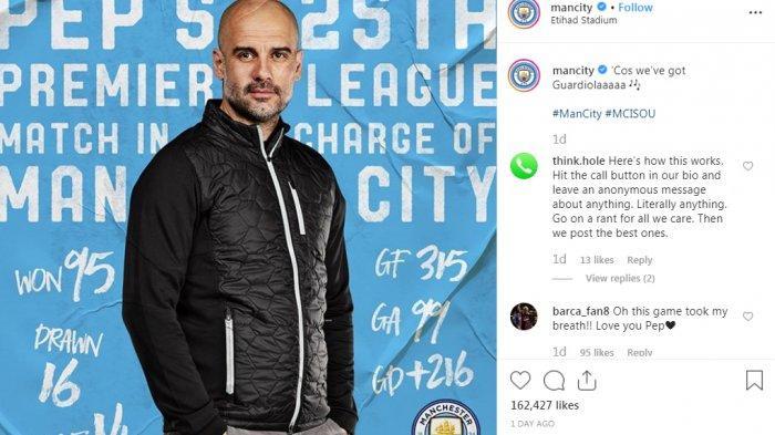 ADA 6 Tim sebagai Rival Man City untuk Raih Trofi Liga Inggris, Itu Yang Dikatakan Pep Guardiola