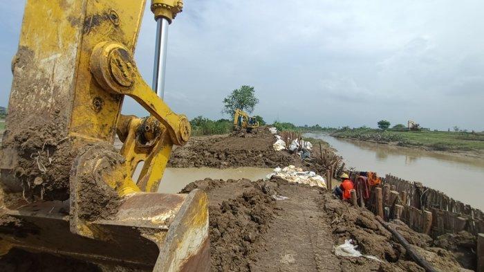 Ribuan Jiwa & Rumah di Indramayu Terdampak Banjir Akibat Tanggul Sungai Cipanas Jebol, Ini Kata BPBD