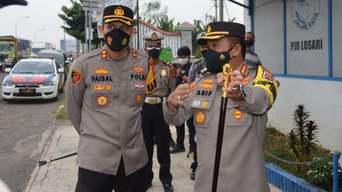 Perbatasan Jabar-Jateng Ditutup Mulai Hari Ini, Polresta Cirebon & Polres Brebes Buat Posko Terpadu