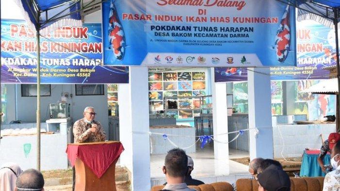 Pasar Induk Ikan Hias Diresmikan, Lengkapi Fasilitas di Kawasan Objek Wisata Waduk Darma