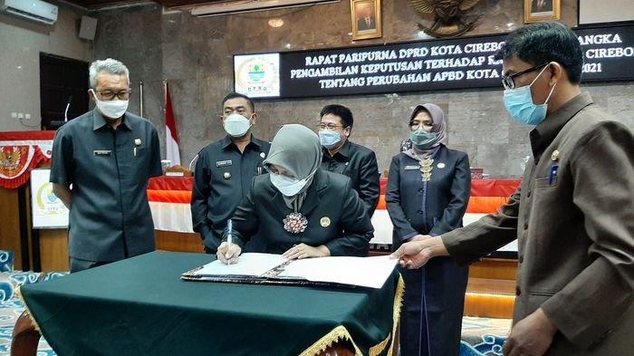 Raperda Perubahan APBD Kota Cirebon 2021 Masih Diprioritaskan Penanganan Pandemi Covid-19