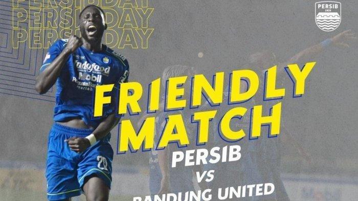 Sedang Berlangsung Live Streaming Persib Bandung vs Bandung United di Stadion GLBA Bandung
