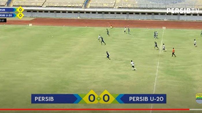 Persib Bandung Sukses Cetak 10 Gol Pada Sesi Pertama Uji Tanding Lawan Persib U-20