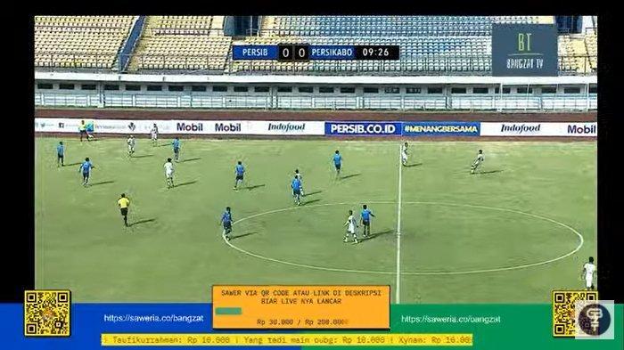 Persib Bandung vs Persikabo 1973 Tanding Sama Kuat, Bobotoh Kecewa LIVE GoPlay Ngelag