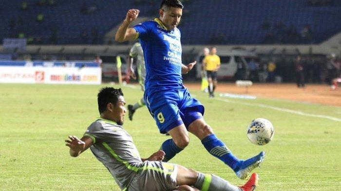 VIDEO- Gol Fantastis Ghozali Siregar Bawa Persib Bandung Menang 1-0 di Kandang Borneo FC