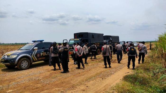Polres Majalengka Siagakan Puluhan Personel Demi Cegah Bentrokan Lagi di PG Jatitujuh Terulang