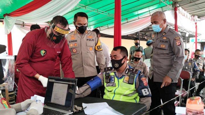11 Personel Polresta Cirebon Gagal Disuntik Vaksin Covid-19 Hari Ini, Ini Penyebabnya