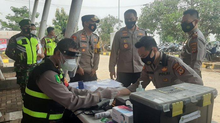 Polresta Cirebon Bakal Rapid Test Pengendara di Rest Area KM 228 Tol Kanci - Pejagan