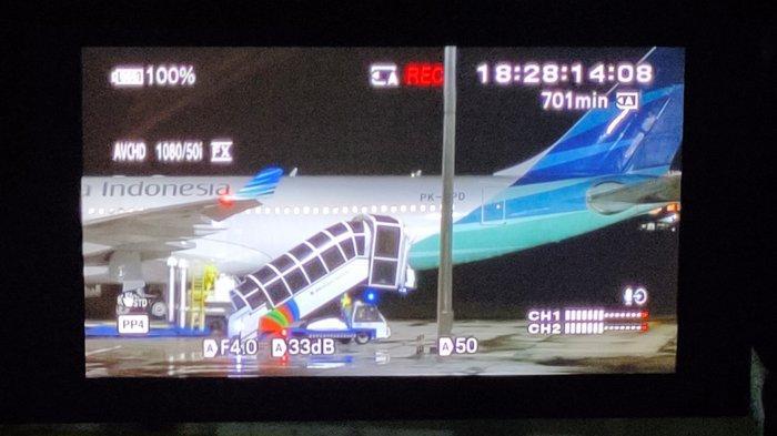 Pesawat Garuda Indonesia yang Angkut WNI dari Jepang Disterilisasikan Jauh dari Gedung Terminal BIJB
