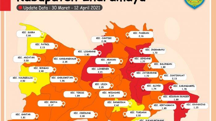 Zona Merah Covid-19 di Indramayu Tinggal Tersisa 7 Kecamatan Lagi, Ini Daftarnya
