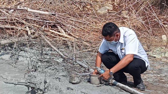 WASPADA! Semburan Lumpur di Desa Cipanas Cirebon Dipastikan Berbahaya Bagi Manusia