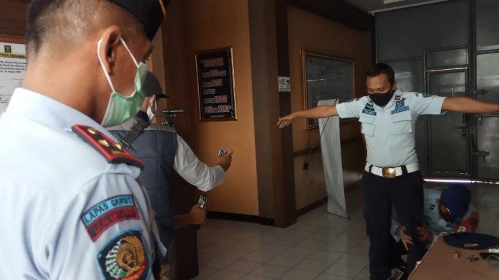 Pegawai Lapas Banyuresmi Garut Selundupkan Sabu-sabu, Bawa 12 Paket Buat Dijual ke Napi