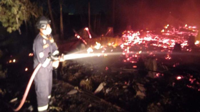 Terjadi Dua Kejadian Kebakaran dalam Sehari di Kuningan, Kedua Objek Yang Terbakar Ludes Dilalap Api