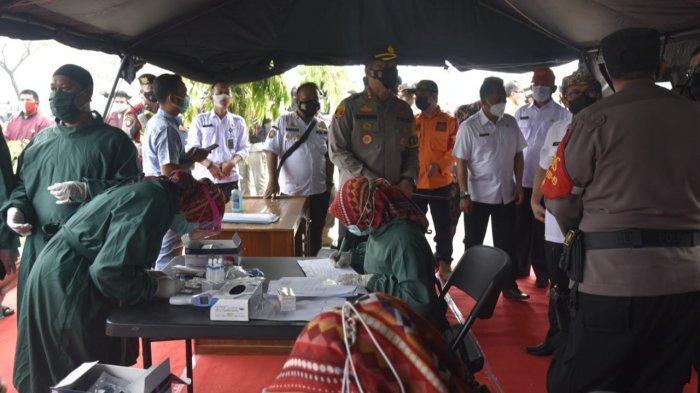 1.193 Pemudik yang Melintasi Kabupaten Cirebon Telah Diperiksa Rapid Test Antigen