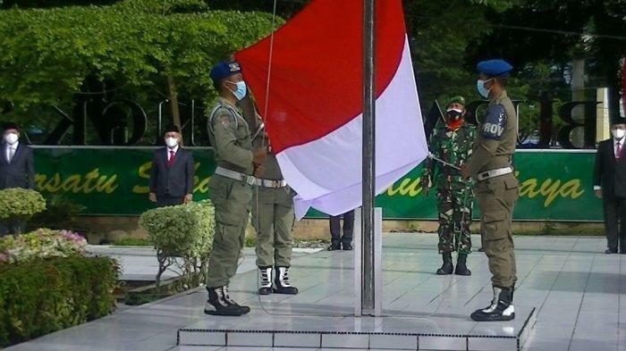 Waduh, 38 Anggota Paskibraka di Daerah Ini Kena Covid-19, Satpol PP Terpaksa Jadi Pengibar Bendera