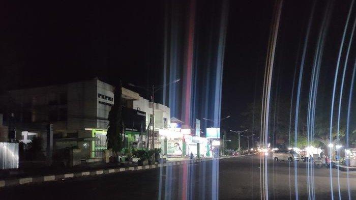 Lampu PJU Dipadamkan, Jalanan Majalengka Gelap Gulita Selama PPKM Darurat