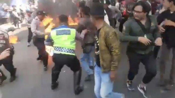 Kabar Terkini Kasus Polisi Terbakar, Bripda FA Simbolon & Bripda Yudi Dipindahkan Ke Ruang Perawatan