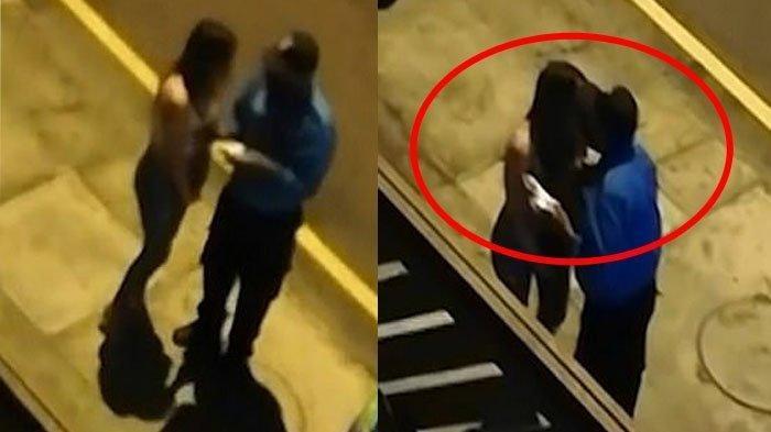 Polisi Terekam Cium Wanita Seksi yang Langgar Jam Malam, Denda Diganti Ciuman, Begini Nasibnya