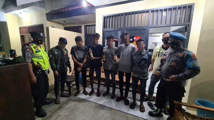 Malam Takbiran Orang Ucap Allahu Akbar, 6 Pemuda di Indramayu Ini Malah Pesta Miras, Disikat Polisi