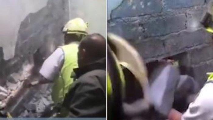 Dengar Suara Aneh dari Dinding, Wanita Ini Ketakutan & Lapor Polisi, Temukan Ini di Balik Dinding