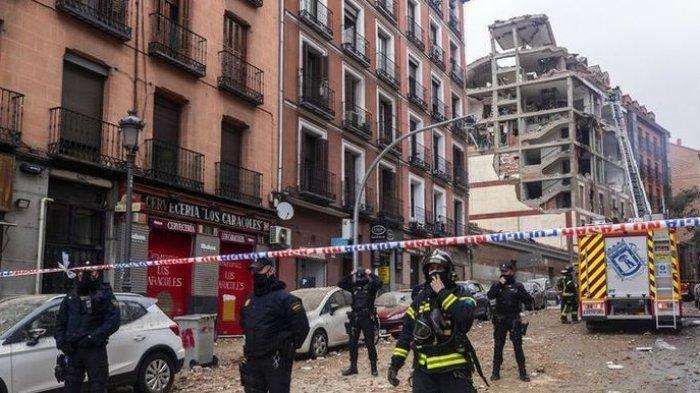 Ledakan Dahsyat Terjadi di Dekat Panti Jompo Pusat Kota Madrid, Buntutnya 2 Orang Dikabarkan Tewas