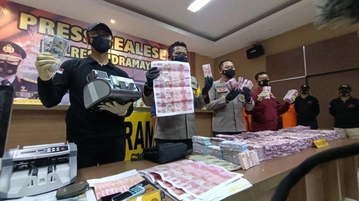 BREAKING NEWS: Polres Indramayu Bongkar Sindikat Pengedar Uang Palsu Senilai Rp 11 Miliar Lebih