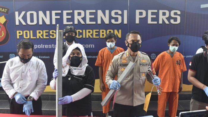 Komplotan Maling Besi Tower Sutet di Cirebon Berhasil Diringkus Polisi, Beraksi di Sejumlah Lokasi